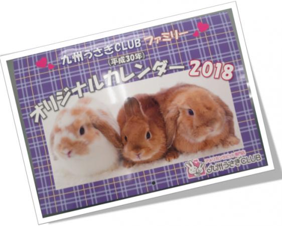 オリジナルカレンダー2018