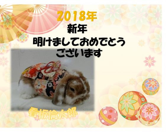 新年のご挨拶倫太郎